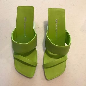 United Nude Lime Green Heels